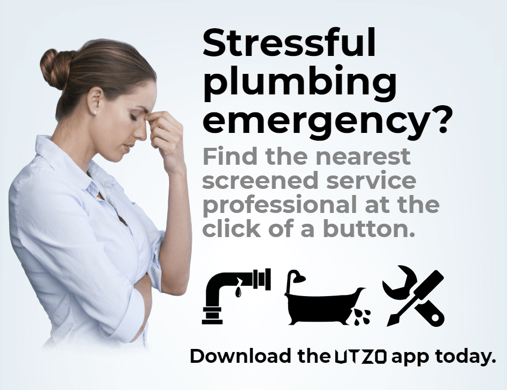 Use UTZO to find local plumbers
