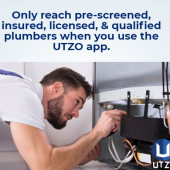 Plumbers benefit from signing up with UTZO